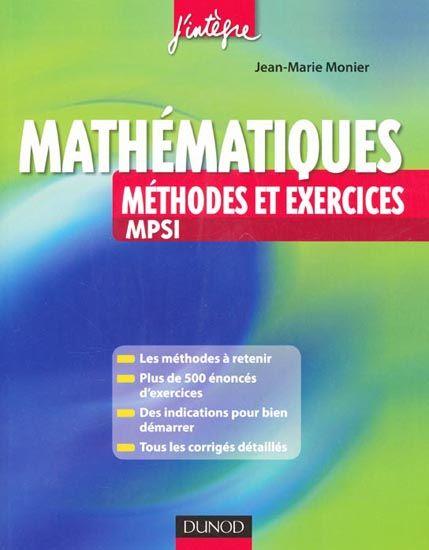 Ebooks Gratuits En Ligne Pack Ebook Mathematiques Maths Prepa Mpsi Pcsi Mathematiques Exercice Jean Marie