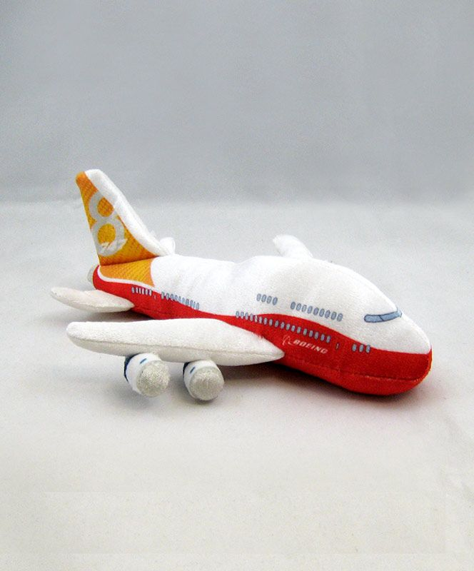 Plush Boeing 747 Jet Plane Museumofflight Stocking Stuffers