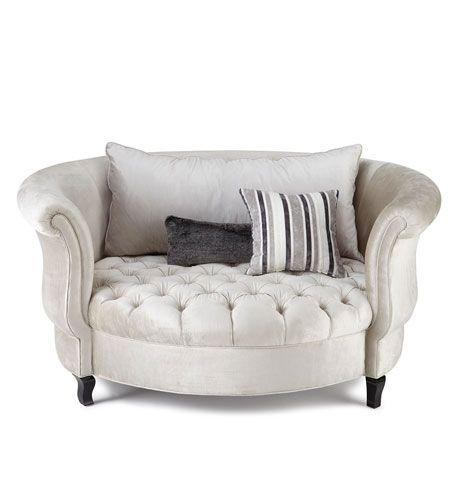 Haute House Harlow Silver Cuddle Chair | Cuddle chair ...