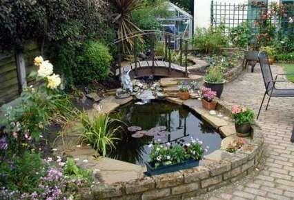 estanque jardin buscar con google - Estanques Jardin