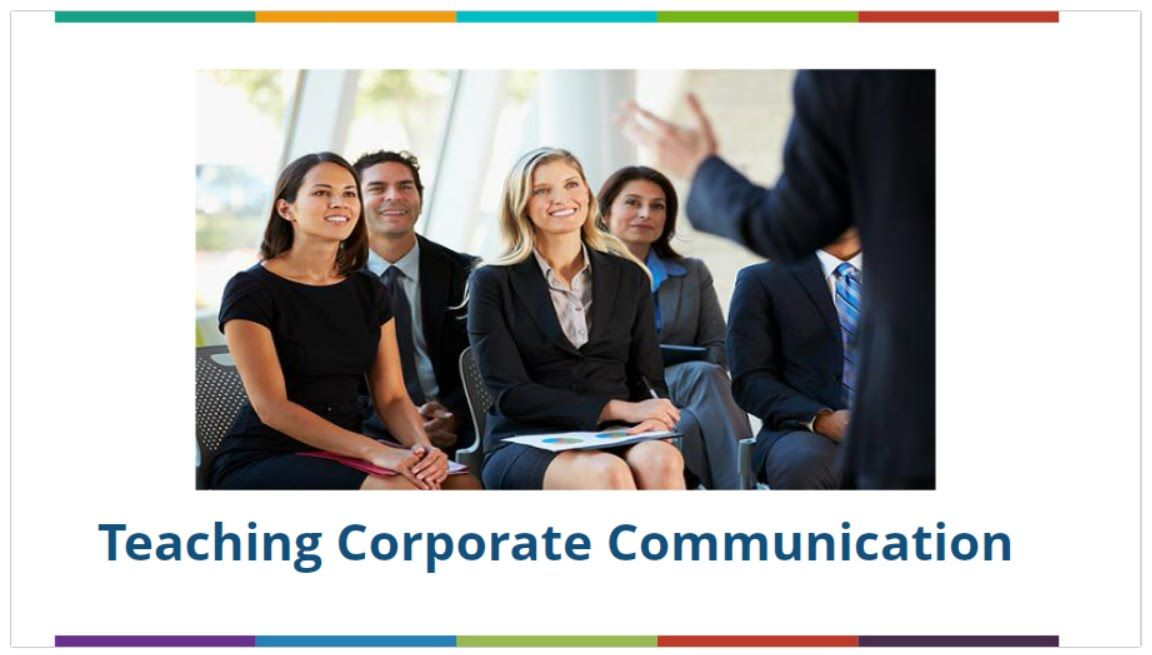 Teaching Corporate Communication
