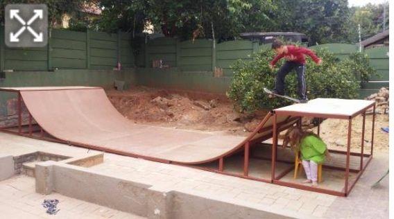 Beau Build A Skateboard Ramp