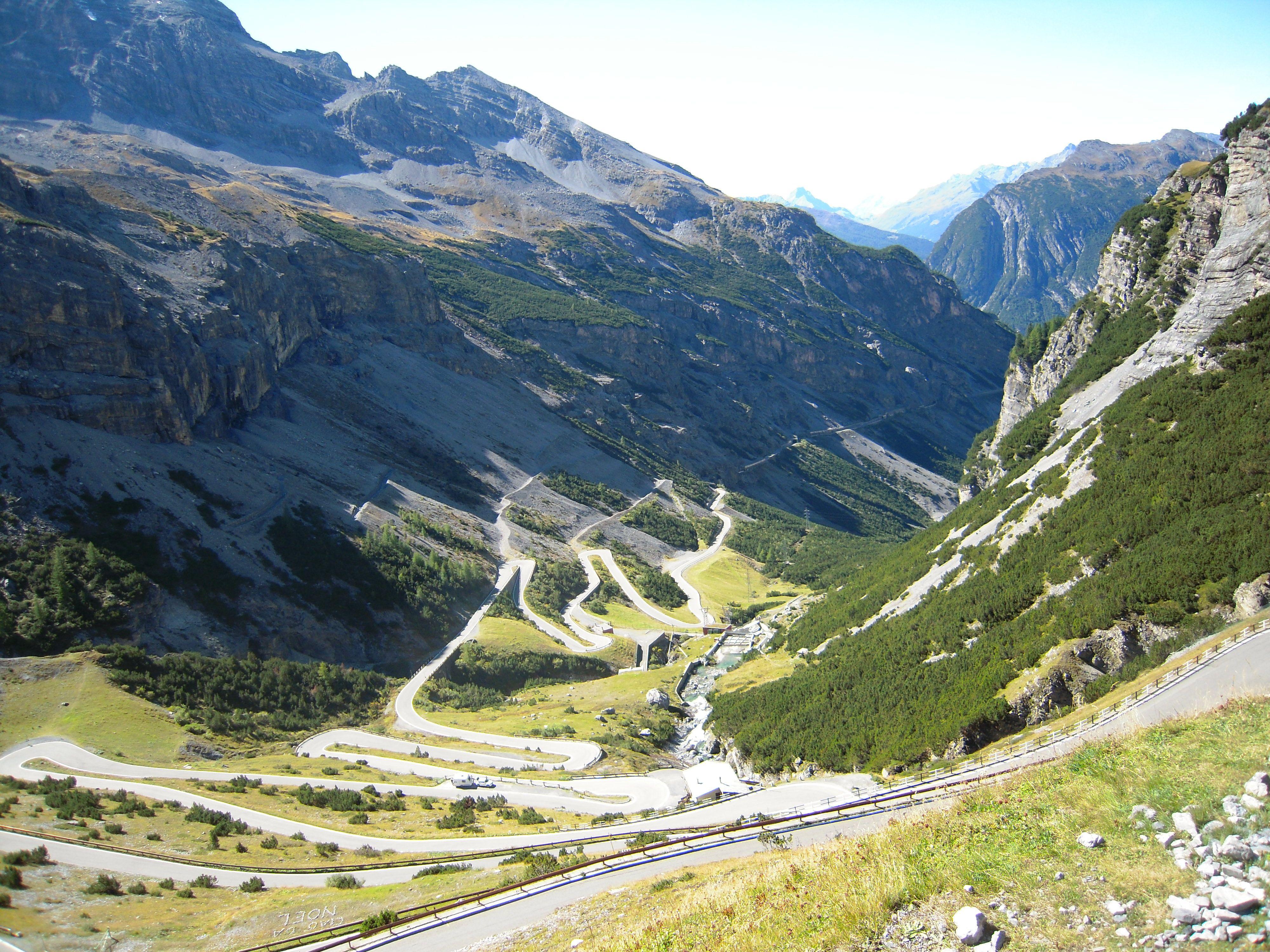 The Stelvio Pass Natural Landmarks Travel Nature