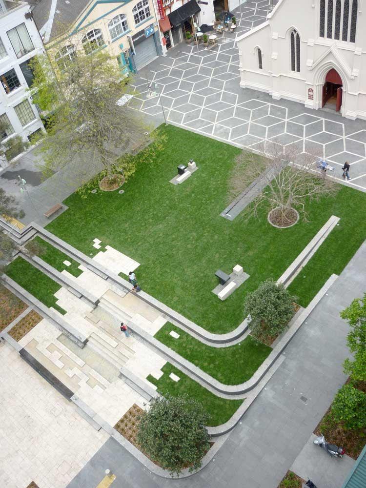 Urban fountain on church square landscape architecture 02 for Bc landscape architects