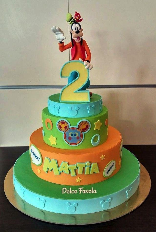 Fantastic Marvelous Goofy 2Nd Birthday Cake Goofy Cake Friends Birthday Funny Birthday Cards Online Barepcheapnameinfo