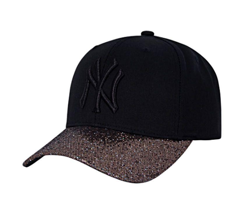new product 868c5 204ac ... new ny yankees adjustable cap mlb korea gold raised embroidery glitter  hat ...