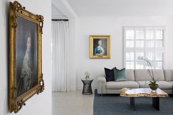 Trend I Love Old Portraits In Modern Interiors Interior