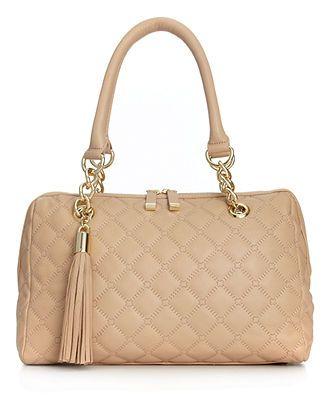 Calvin Klein Handbag, Geneva Quilted Leather Satchel - Calvin Klein - Handbags & Accessories - Macy's