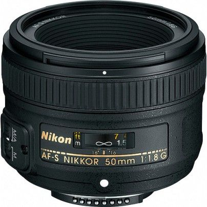 NIKKOR AF-S 50/1.8G. Great value for the money. Perfect for portraits.