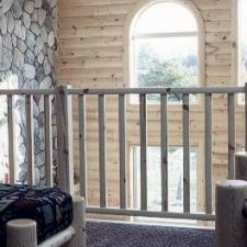 Best Log Railings And Stairs With Images Knotty Pine 400 x 300