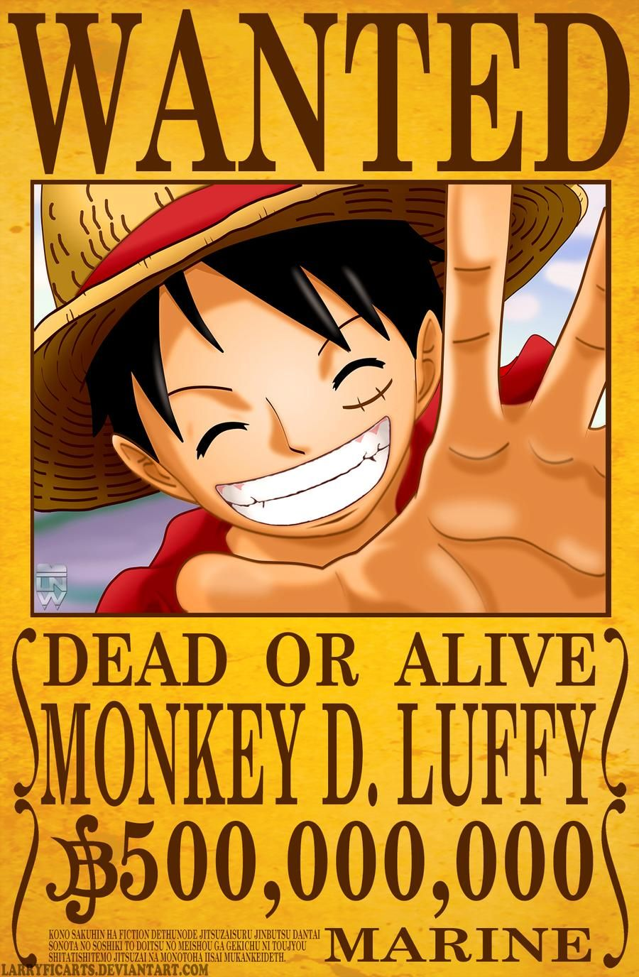 One Piece Wanted Poster Luffy Trong 2020 One Piece Cướp Biển