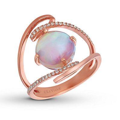 Fashion woman Man 14K Yellow Gold Filled Opal Gift Waterdrop Ring Size 6-10