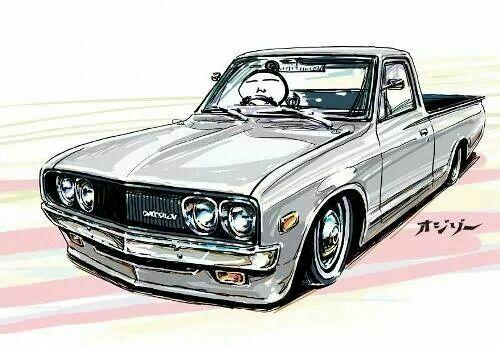 Datsun 620 Datsun Pickup Datsun Car Painting