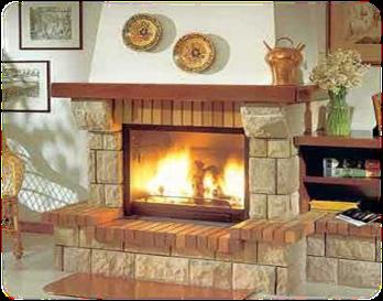 Como hacer una chimenea de uso domestico proyectos que intentar pinterest chimenea r stica - Como disenar una chimenea de lena ...