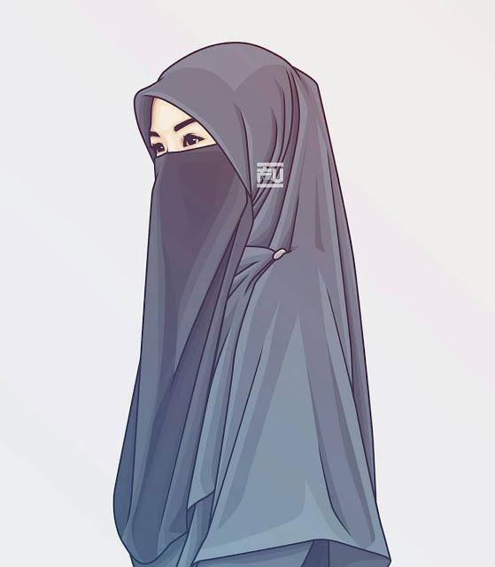 Anime Wallpaper Hijab Muslimah Cute Cartoon Hijabi Di 2020 Gambar Kartun Animasi