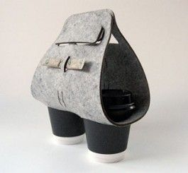 'Tota' Coffee Cup Carrier! 'Star Bucks' needs to sell these:)