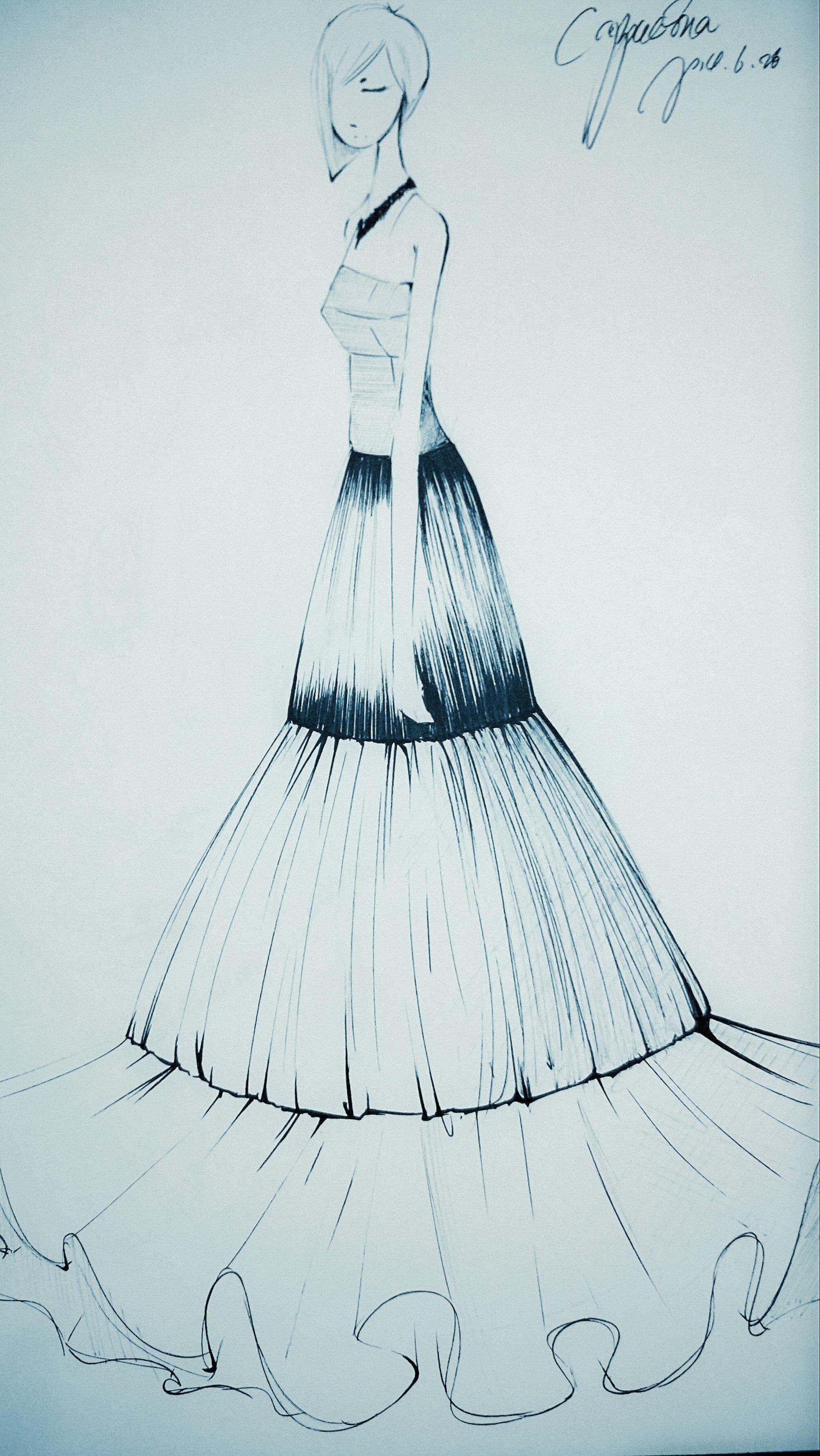 Cappucina的服装设计手稿 Fashion Design Template Fashion Sketches Fashion Design Sketches