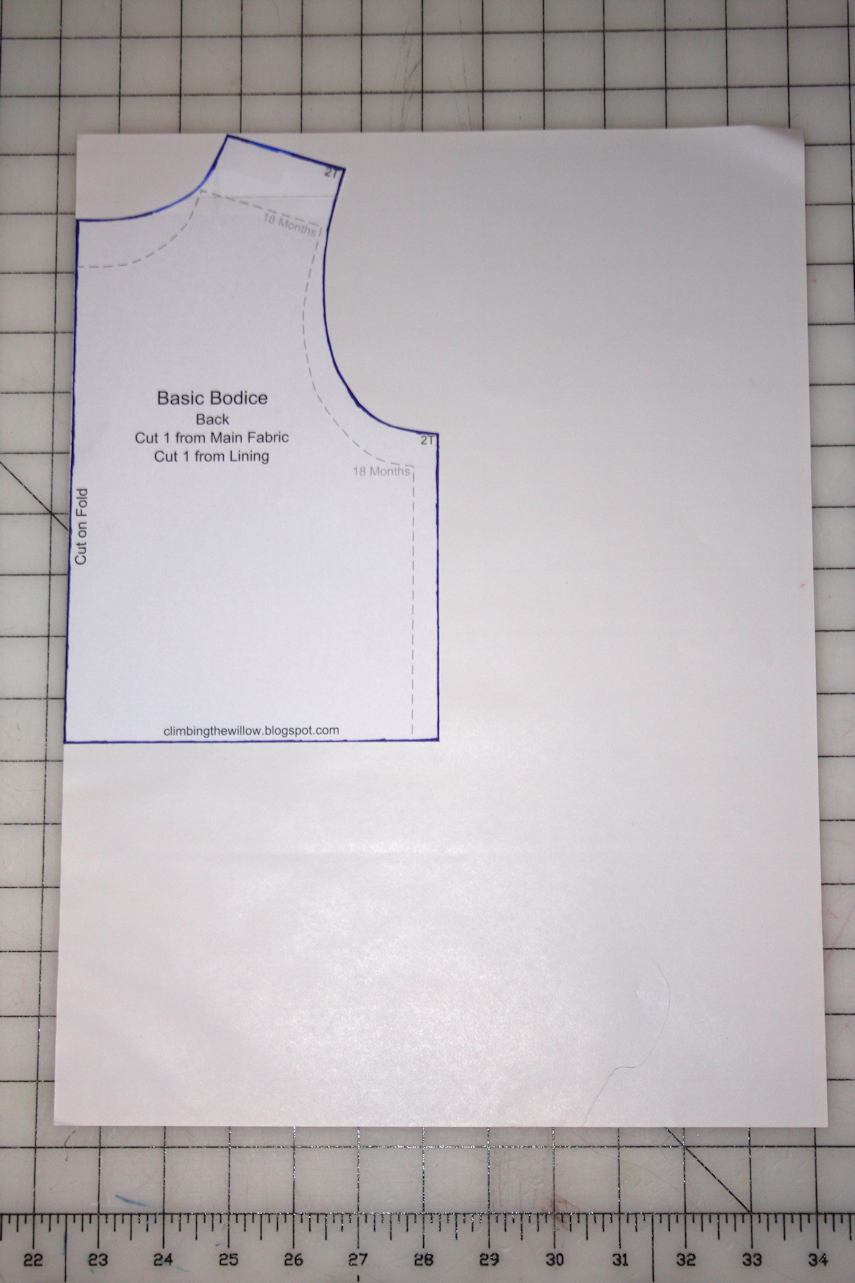 It is really simple to draw an a-line top (or dress) from a basic ...