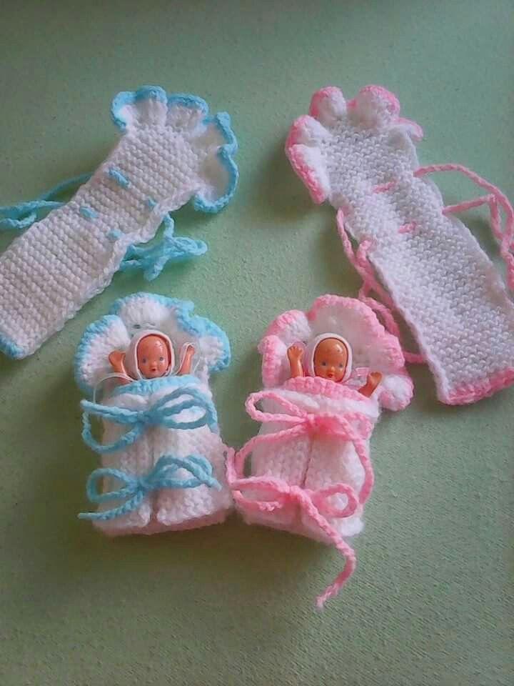 Puppen  #handknitclothes #puppen #vestidosparabebédeganchillo
