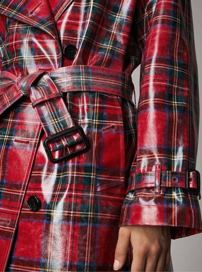 Plaid raincoat   Plaid   Tartan, Plaid, Tartan plaid a75df466d09