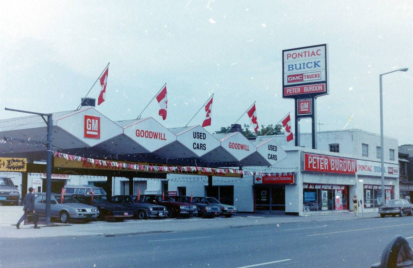 Peter Burdon Motors Pontiac Buick Gmc Dealership Toronto