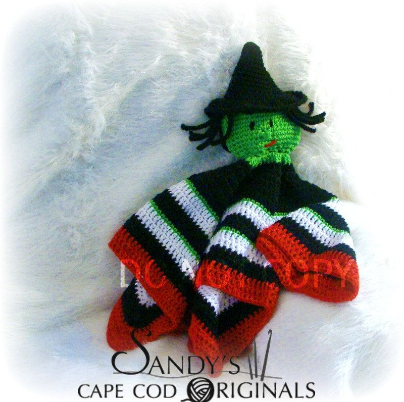 Lovie Blanket Crochet Pattern Inspired by The Witch of the East from ...