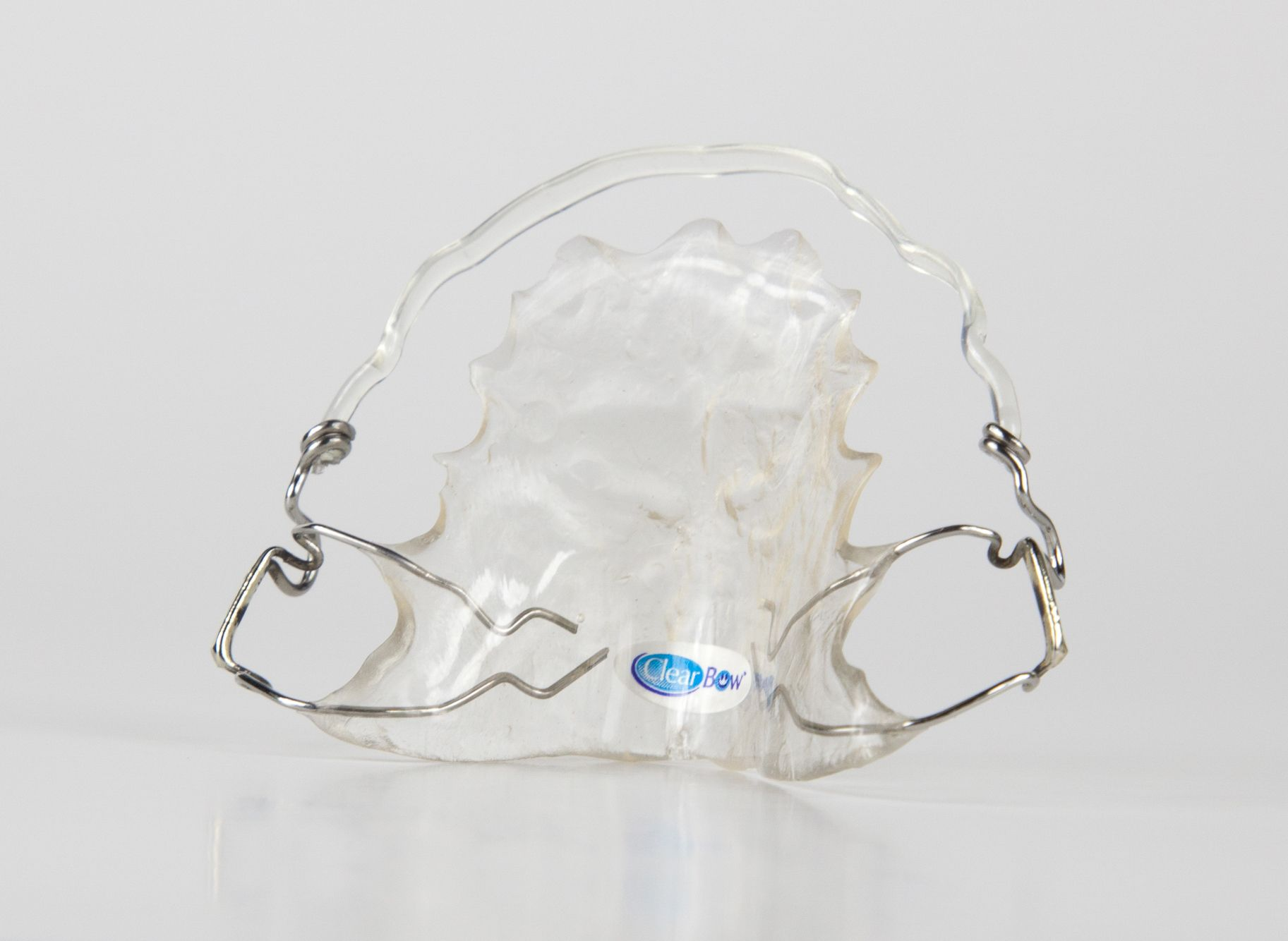 Hawley Retainer With Clearbow Labial Wire