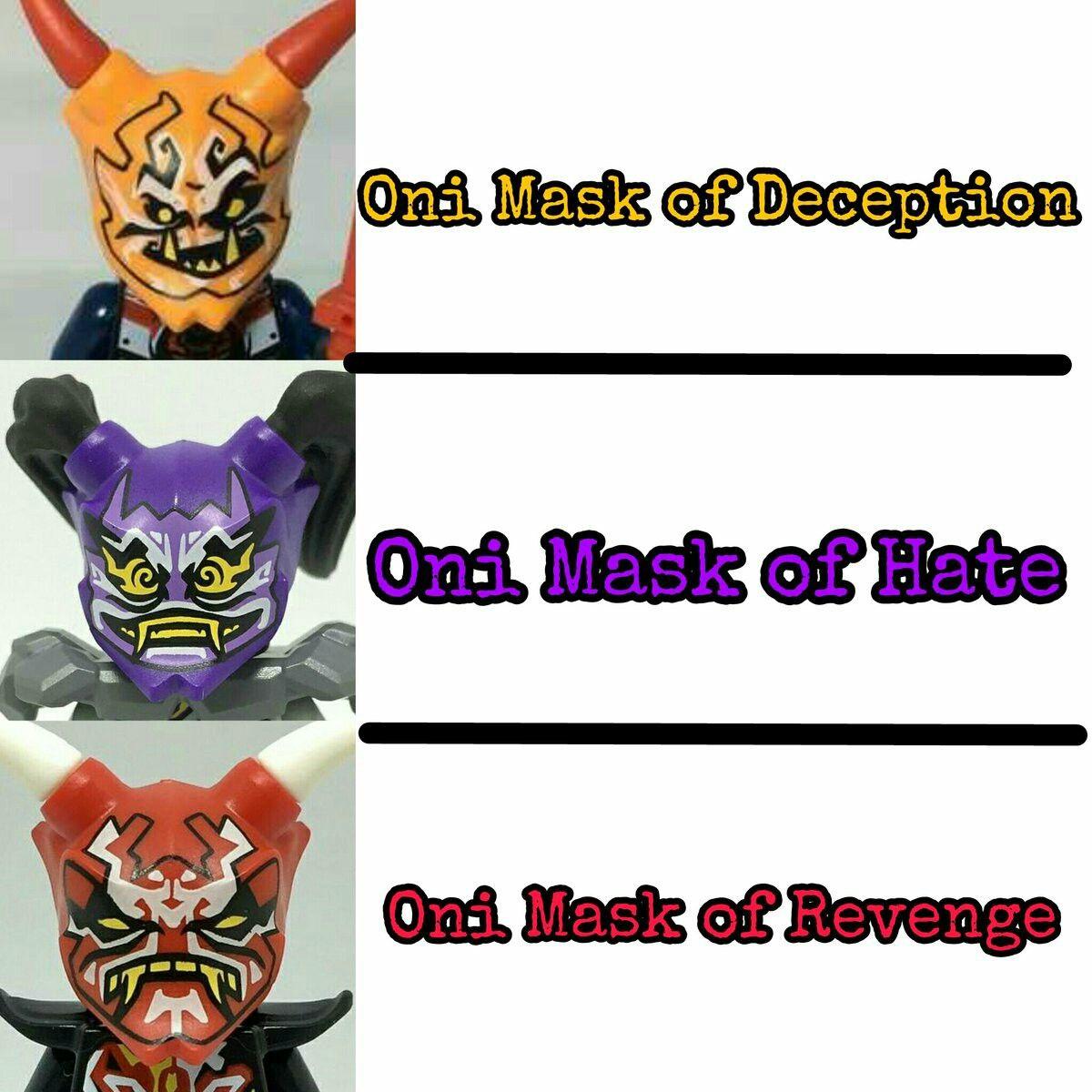 lego ninjago oni masken ausmalbilder  besten bilder von