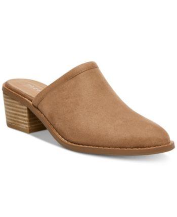 Mules shoes flat, Pumps heels