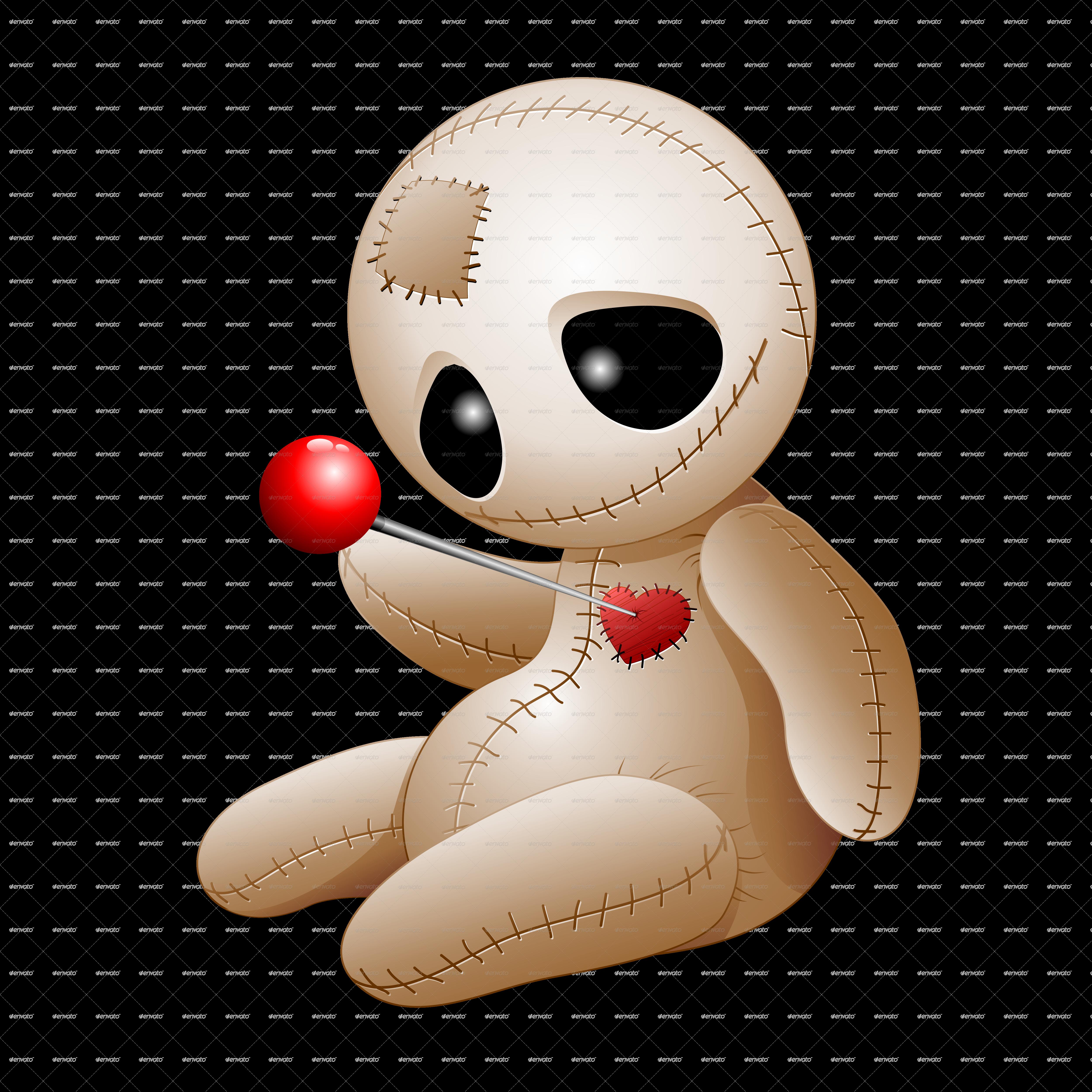 Voodoo Doll Cartoon In Love Voodoo Dolls Dolls Voodoo