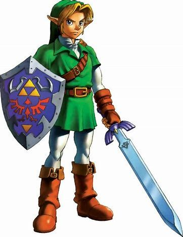 Image result for ocarina of time link reference