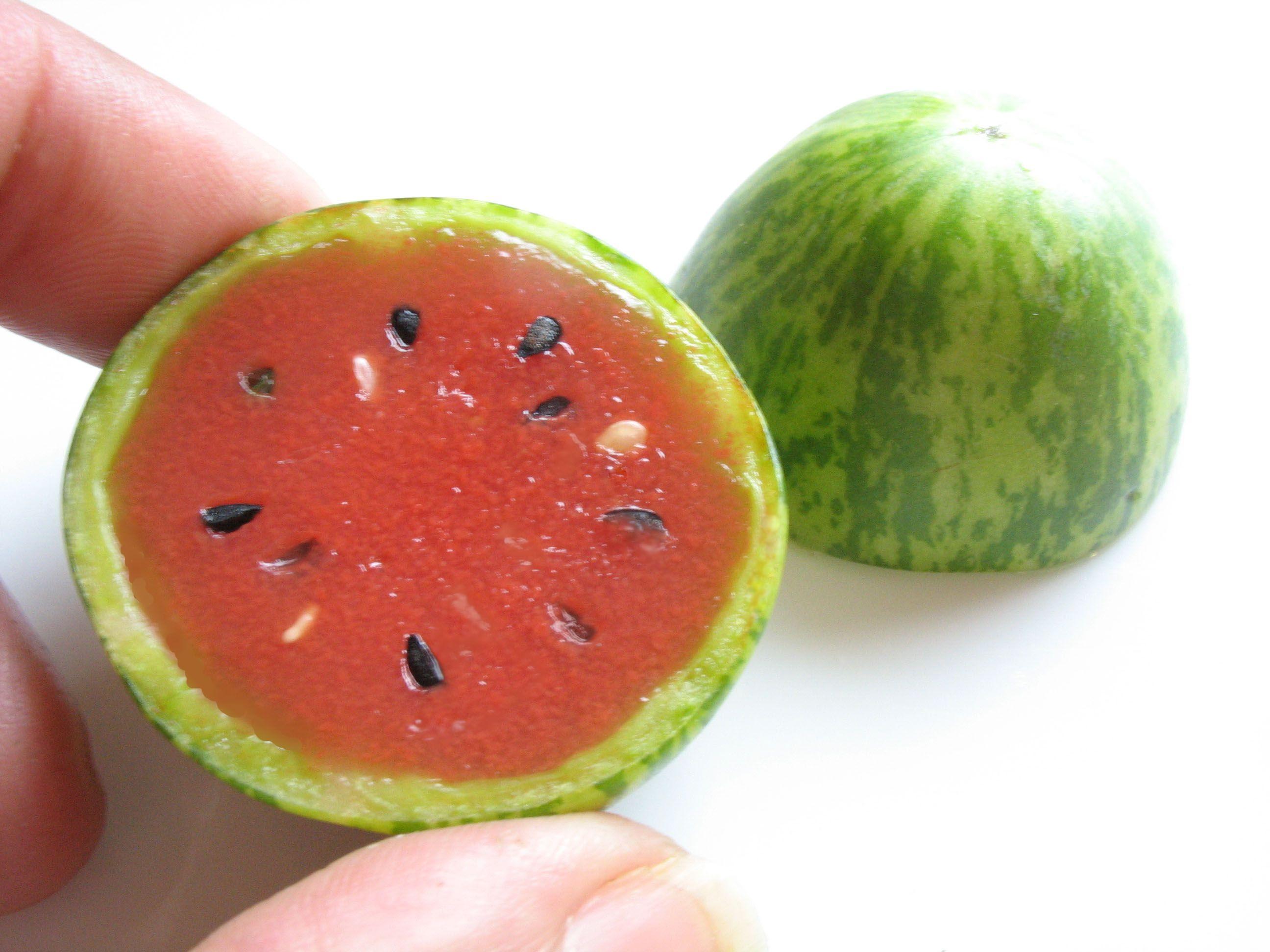 Baby watermelon...how cute!