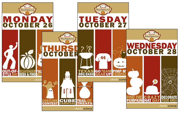 September 29: Fall Employee Appreciation Week Posters