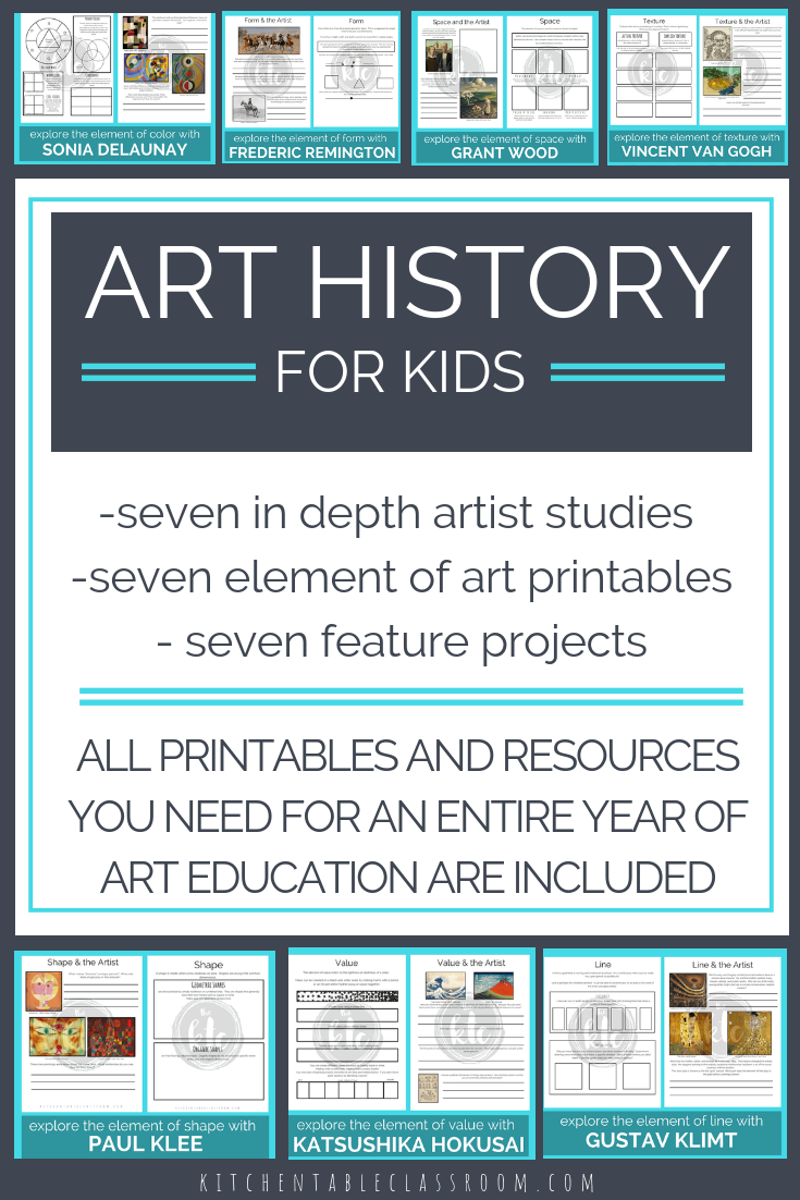 The Artists And The Elements An Elementary Art Curriculum In 2018