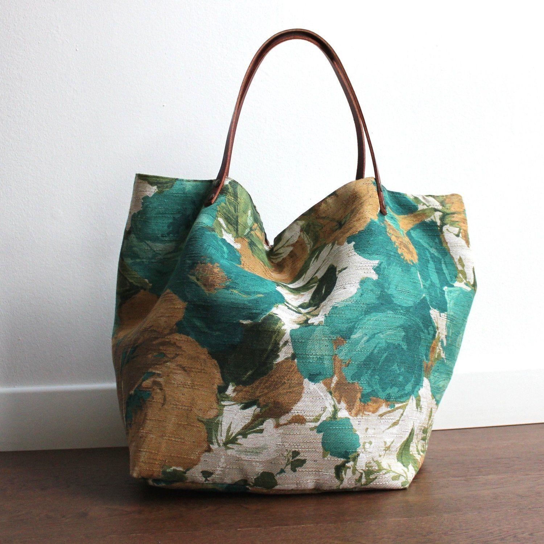 adatto a uomini/donne vendita outlet diversificato nella confezione Alba borsa in tessuto fatta a mano | Shopper | Borse, Borse ...