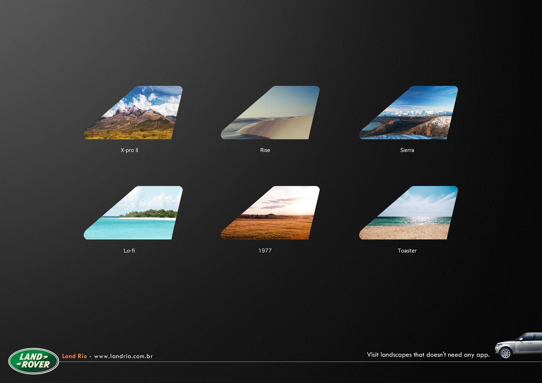 Land Rover / Land Rio App ads marketing creative