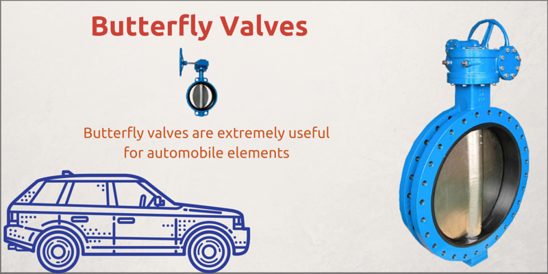 Use Of Butterfly Valves For Automobile Elements Butterfly Valve Valve Butterfly