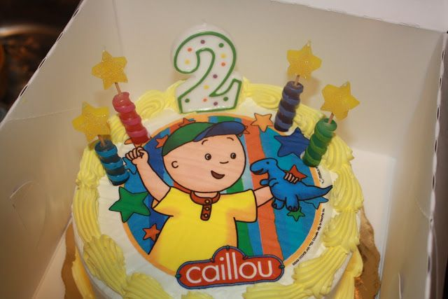 Caillou Edible Cake Topper Products I Love Pinterest Caillou