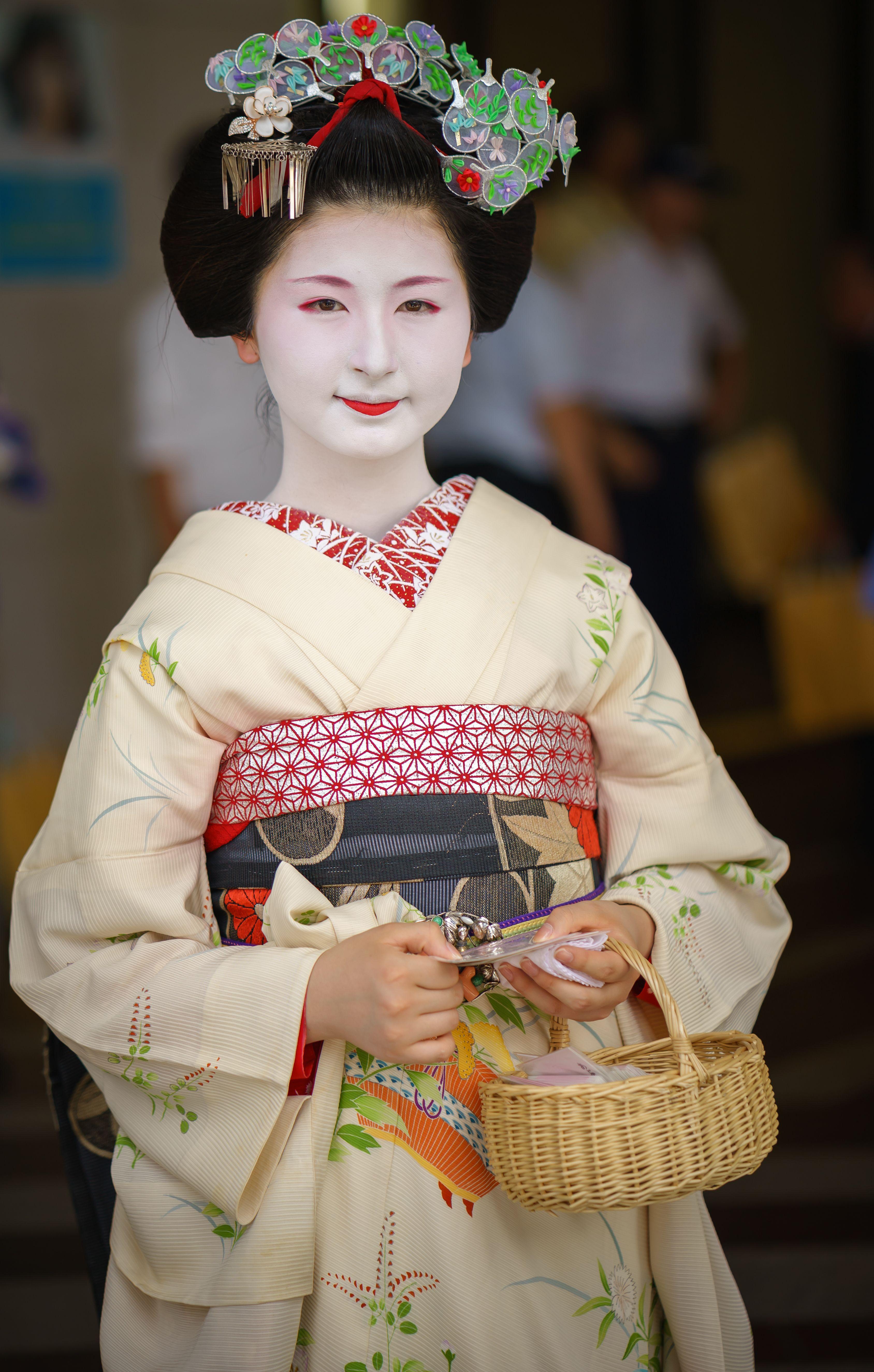Maiko Fukuno of Miyagawacho Geiko Maiko Pinterest