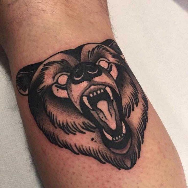 31 Amazing Bear Tattoos - Tattoo Insider
