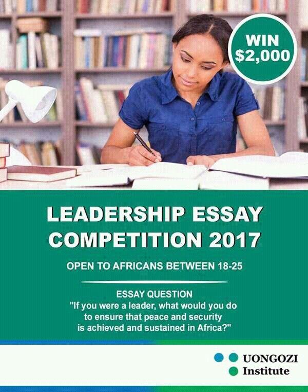 uongozi institute essay competition