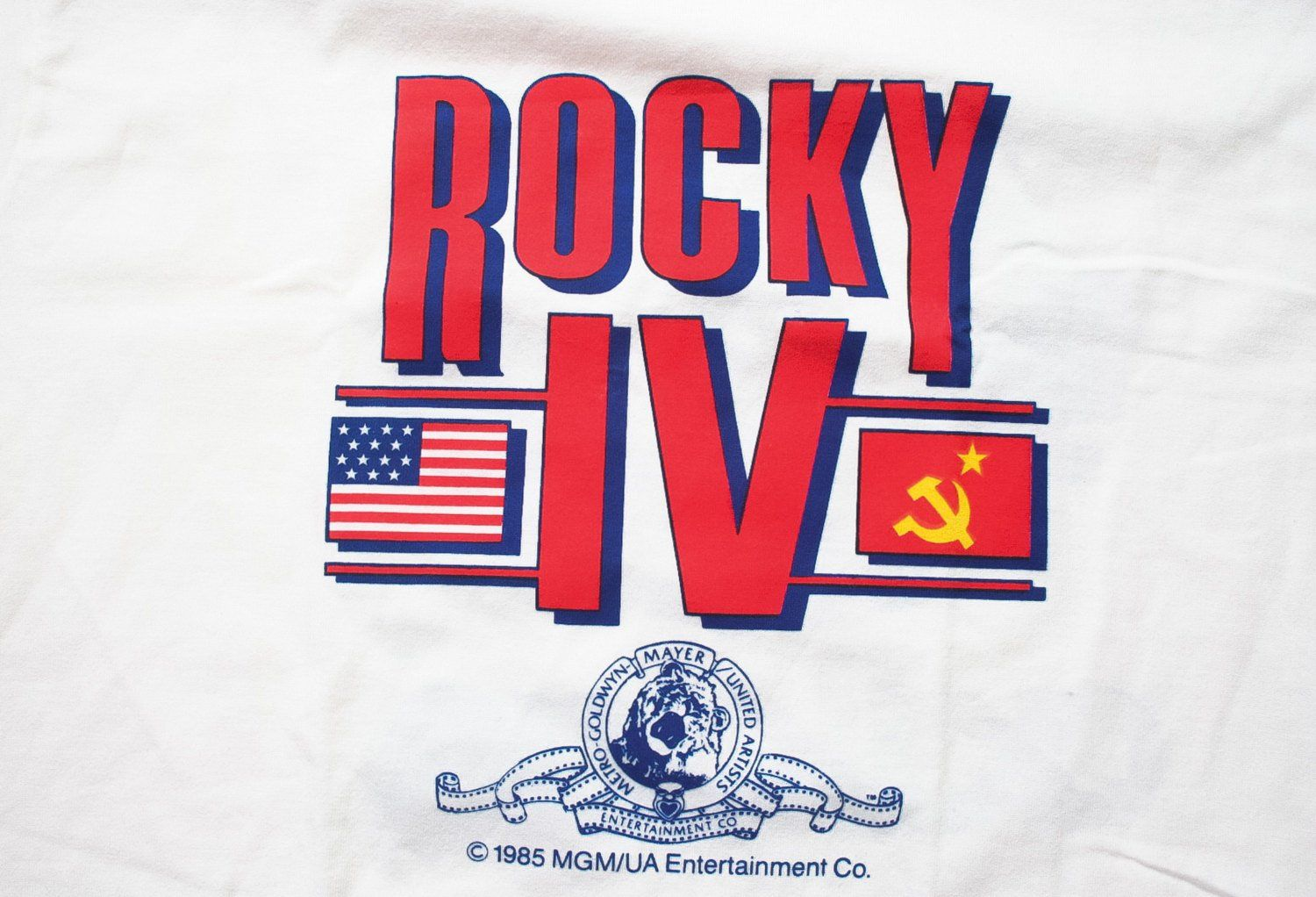 Rocky IV 4 Movie Ivan Drago Face Picture Poster Licensed Tee Shirt Adult S-3XL