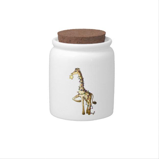 Shiny Giraffe Candy Jar |  Shiny Giraffe Candy Jar
