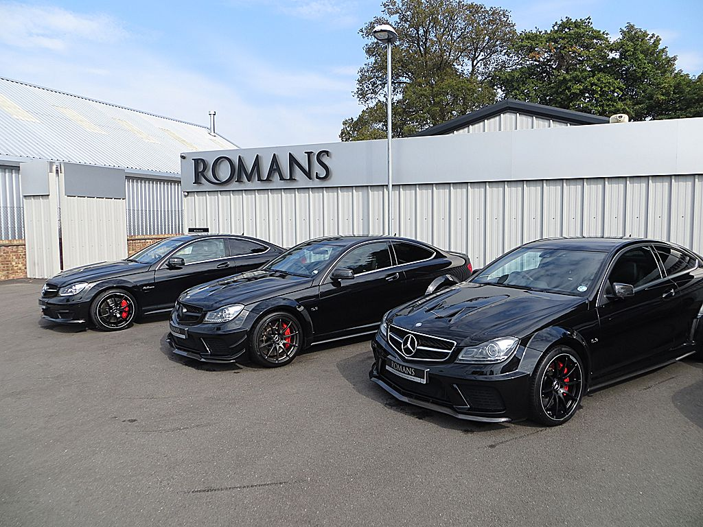 C63 amg black series and c63 507 edition auto for Mercedes benz c63 amg black edition