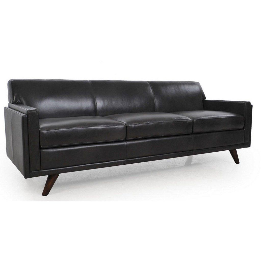 52914abf5a70 Milo Full Leather Mid-Century Sofa by Modoni