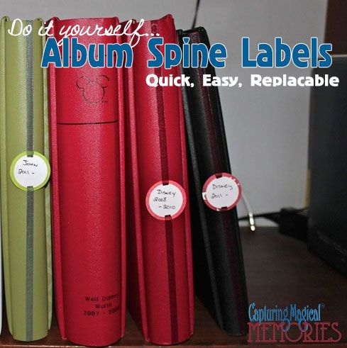 labels for photo albums