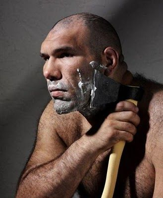 Shaving So Easy A Caveman Can Do It Hey Hubby You Might Like