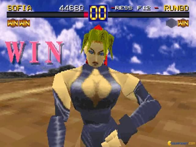 Battle Arena Toshinden Sofia That Laugh She Always Did When She