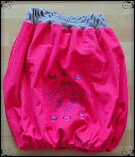 das pu tutorial ballonrock f r gro e und kleine prinzessinnen sewing skirts bubble. Black Bedroom Furniture Sets. Home Design Ideas