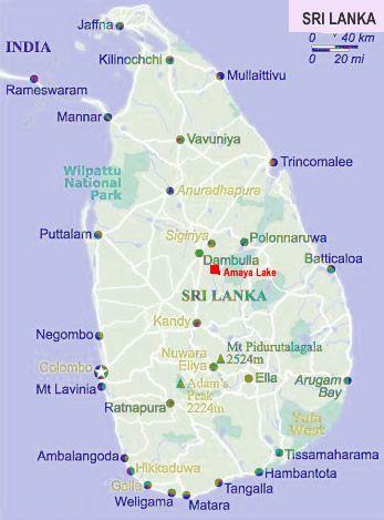 Where Is Sigiriya On Map Sri Lanka Travel Sri Lanka Island - Where is sri lanka